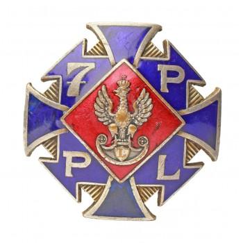 Odznaka 7 Pułku Piechoty