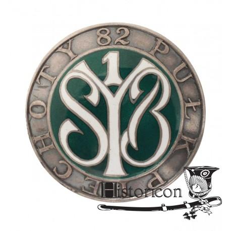 Odznaka 82 Pułku Piechoty