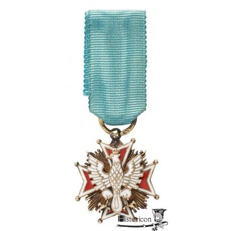 Miniatura Orderu Orła Białego