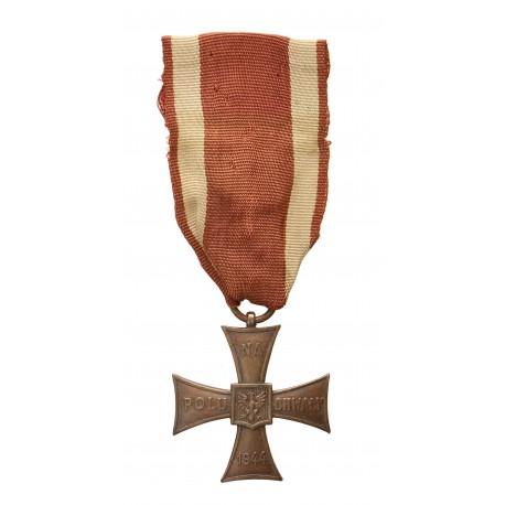 Krzyż Walecznych 36 mm z datą 1944