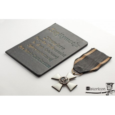 Krzyż b. Armii Ochotniczej gen. Bułak-Bałachowicza