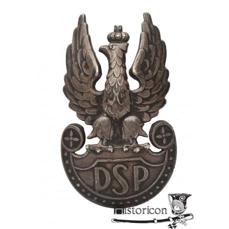 Orzeł DSP - biały metal