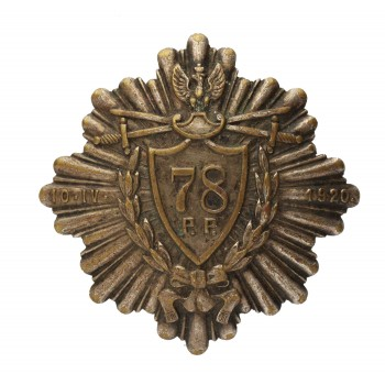 Odznaka 78 Pułku Piechoty