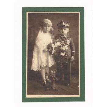 Zdjęcie dwójki dzieci