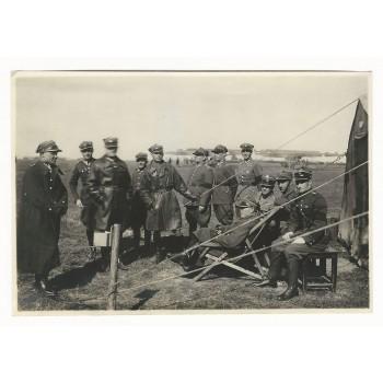 Zdjęcie z manewrów 6 Pułku Lotniczego