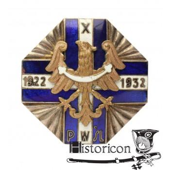 Odznaka X-lecia Policji Województwa Śląskiego