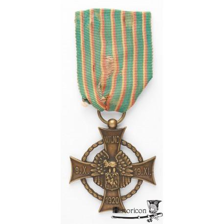 Krzyż Zasługi Wojsk Litwy Środkowej