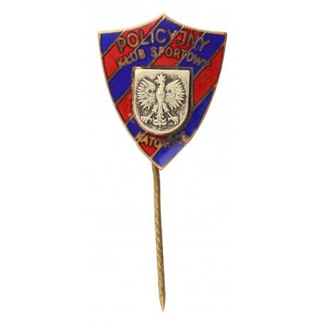 Odznaka policyjnego klubu sportowego