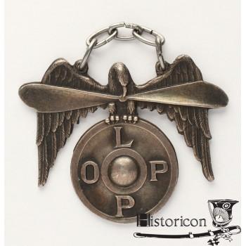 Odznaka LOPP - srebro
