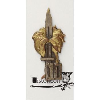 (16) Odznaka 10 Batalionu Piechoty