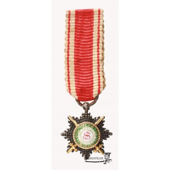 Miniatura krzyża Orderu Św. Stanisława