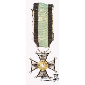 Krzyż srebrny Orderu Wojskowego Polskiego - powstanie listopadowe