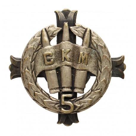 [1.7] Odznaka 5 Baonu CKM