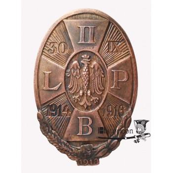 Odznaka II Brygady z wiankiem