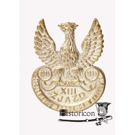 Orzeł pamiątkowy z XIII zjazdu Legionistów