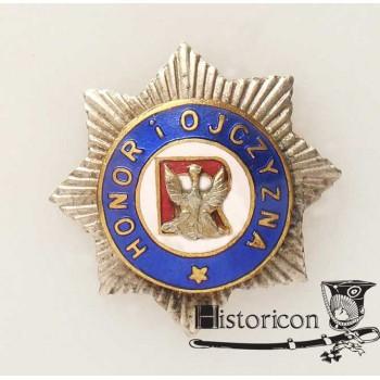 Miniatura odznaki Związku Oficerów Rezerwy