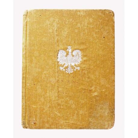 Książeczka wojskowa po oficerze 22 Pułku Piechoty