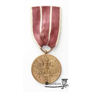 Medal Wojska - wykonanie brytyjskie