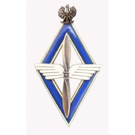 Nienotowana w literaturze polska odznaka lotnicza z okresu międzywojennego