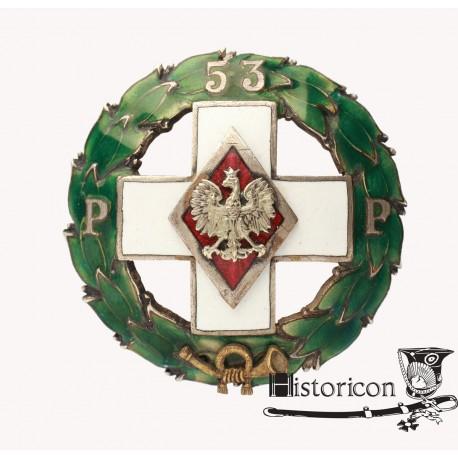 Odznaka 53 Pułku Piechoty