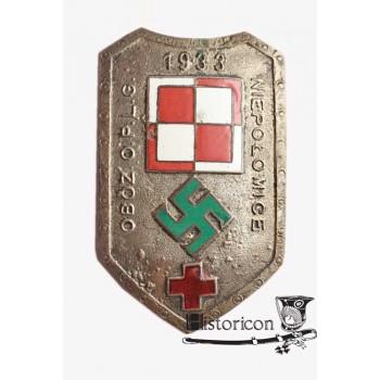Rzadka odznaka obozu obrony przeciwlotniczej i przeciwgazowej