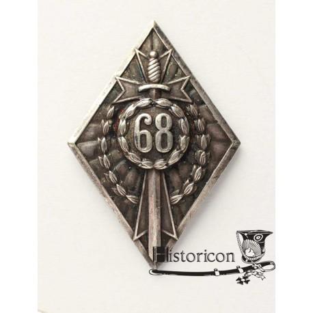 Odznaka 68 Pułku Piechoty