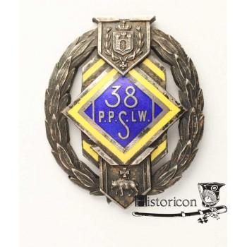 Odznaka 38 Pułku Piechoty