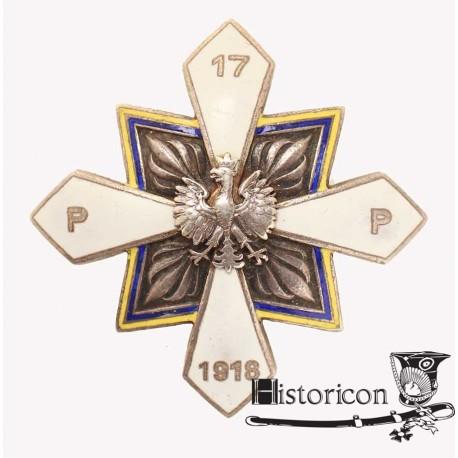 Odznaka 17 Pułku Piechoty