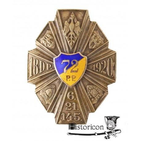 [1.7] Odznaka 72 Pułku Piechoty ? wersja oficerska