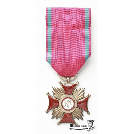 Krzyż Zasługi - wykonanie grawerskie.
