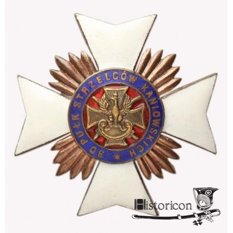 Odznaka 30 Pułku Strzelców Kaniowskich