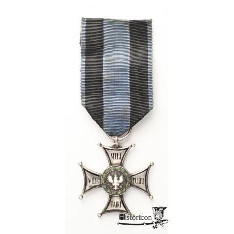 Krzyż Virtuti Militari - luksusowe wykonanie grawerskie