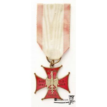 "10. Krzyż ""ZA ZASŁUGI"" M.S.O."