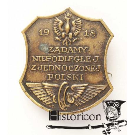 12. Odznaka patriotyczna z roku 1918