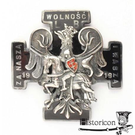 Odznaka 1 Dywizji Litewsko-Białoruskiej
