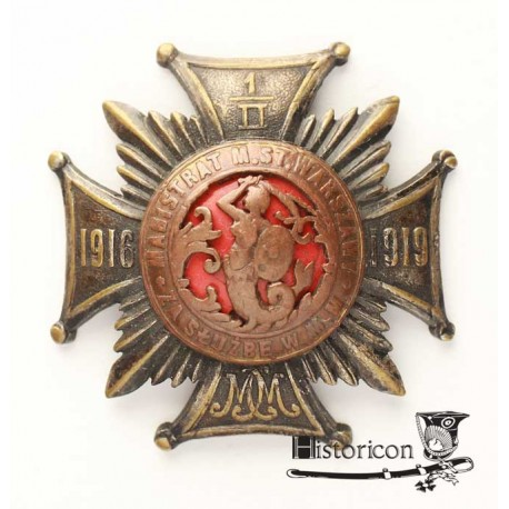 Odznaka Milicji Miejskiej miasta stołecznego Warszawy