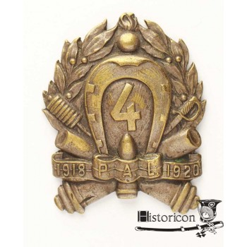 Odznaka 4 Pułku Artylerii Polowej