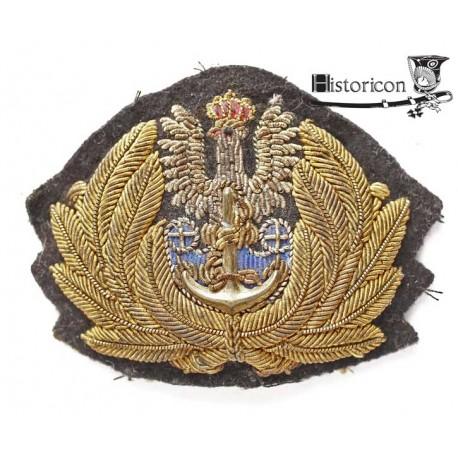 (14) Orzeł oficerski Marynarki Wojennej Polskich Sił Zbrojnych na Zachodzie