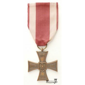 Krzyż Walecznych – wojenne wykonanie radzieckie