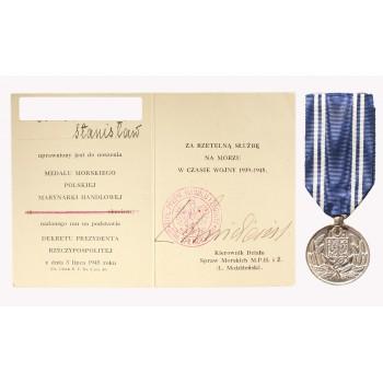 Medal Morski Polskiej Marynarki Handlowej