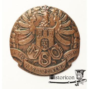 Odznaka Miejskiej Straży Obywatelskiej miasta Lwowa