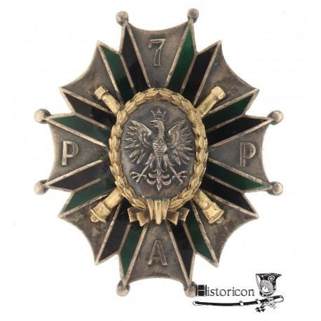 [1.7] Odznaka 7 Pułku Artylerii Polowej