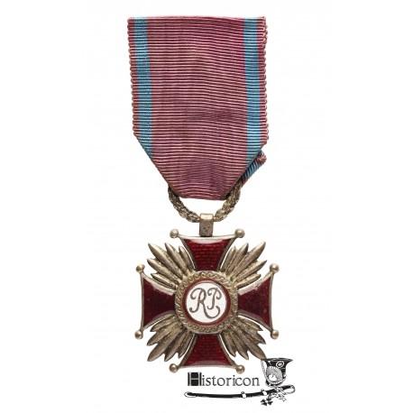 Srebrny Krzyż Zasługi - rzadka wersja