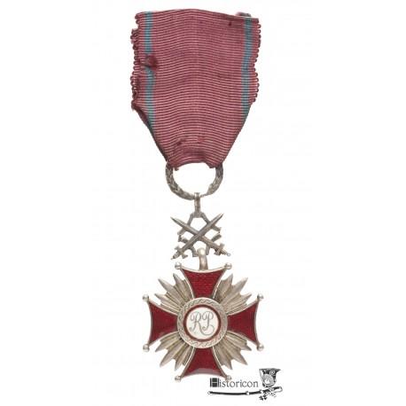 Srebrny Krzyż Zasługi - Miecznik