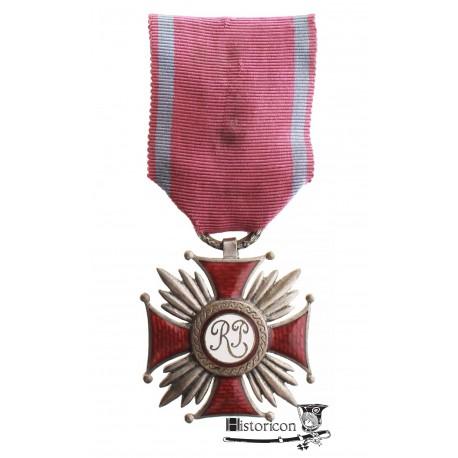 Srebrny Krzyż Zasługi  - odmiana grawerska