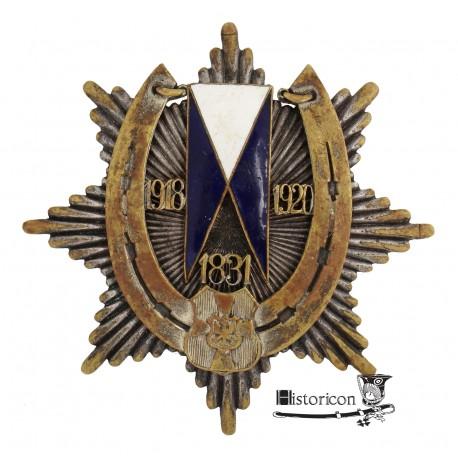 Odznaka 19 Pułku Ułanów Wołyńskich