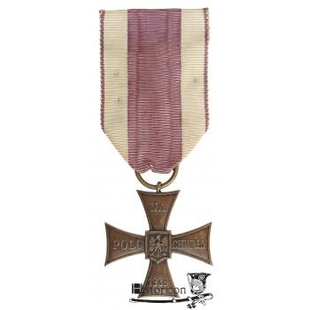 Krzyż Walecznych z datą 1939
