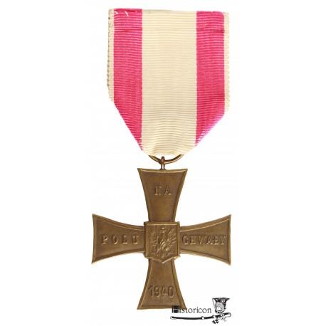 Krzyż Walecznych Delande z datą 1940