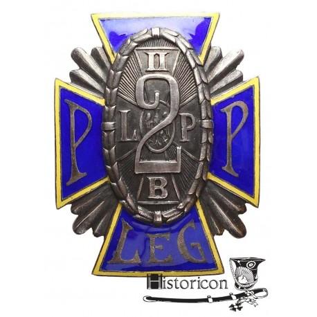 [1.7] Odznaka 2 Pułku Piechoty Legionów ? wersja oficerska