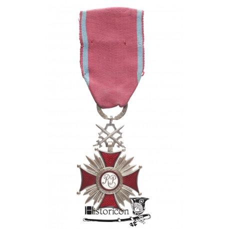 Srebrny Krzyż Zasługi z Mieczami - Miecznik